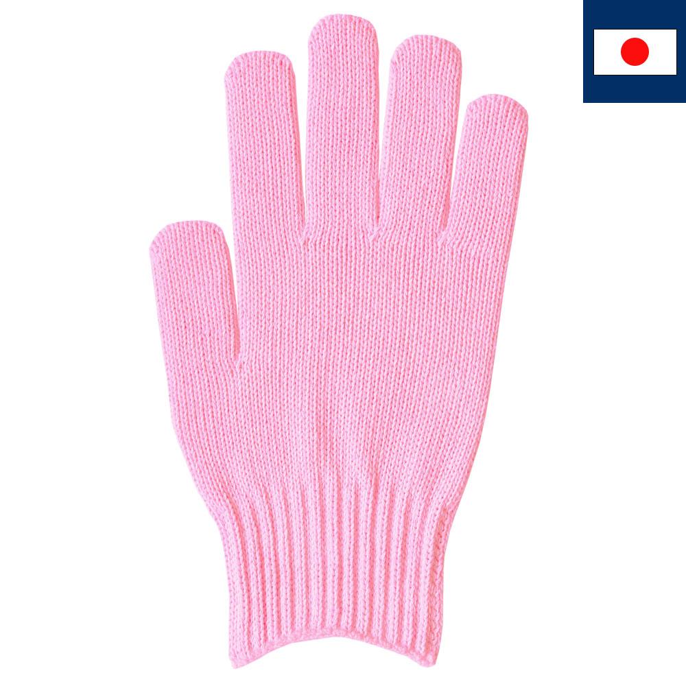 綿100%カラー軍手 ピンク(受注生産)