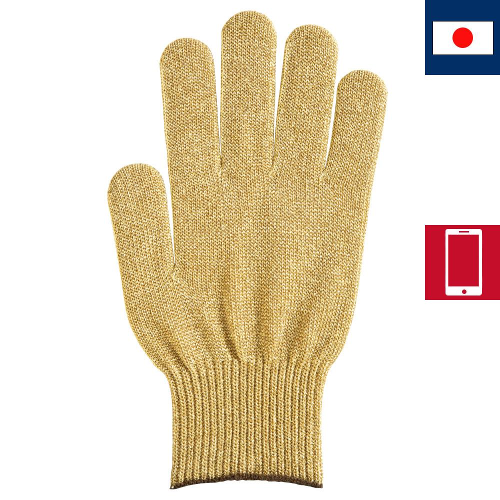 プレミアカラー手袋 ゴールド
