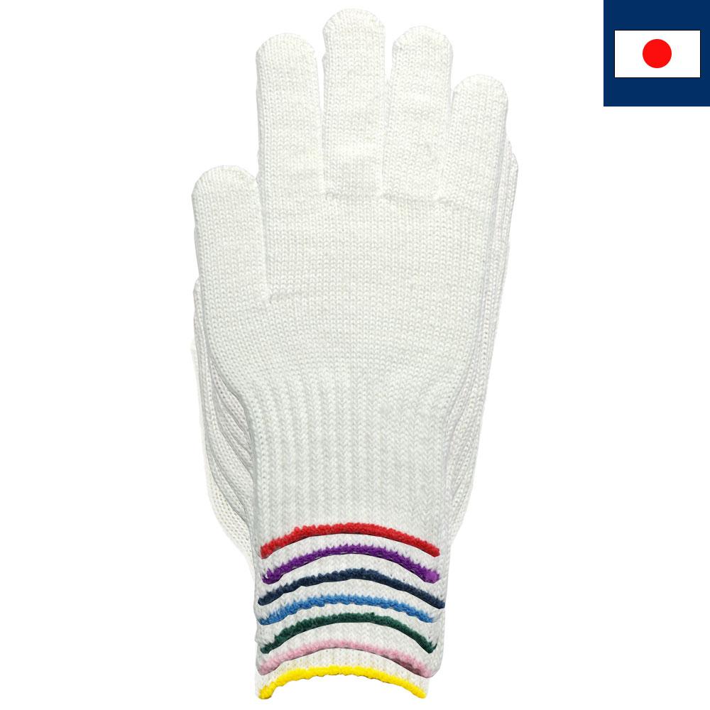 7ゲージ白軍手(日本製)
