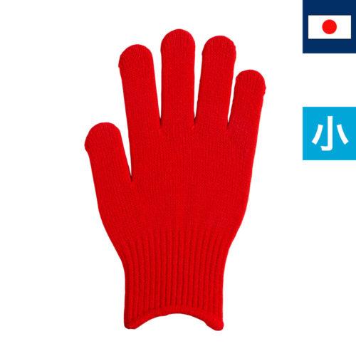 のびのび手袋 赤