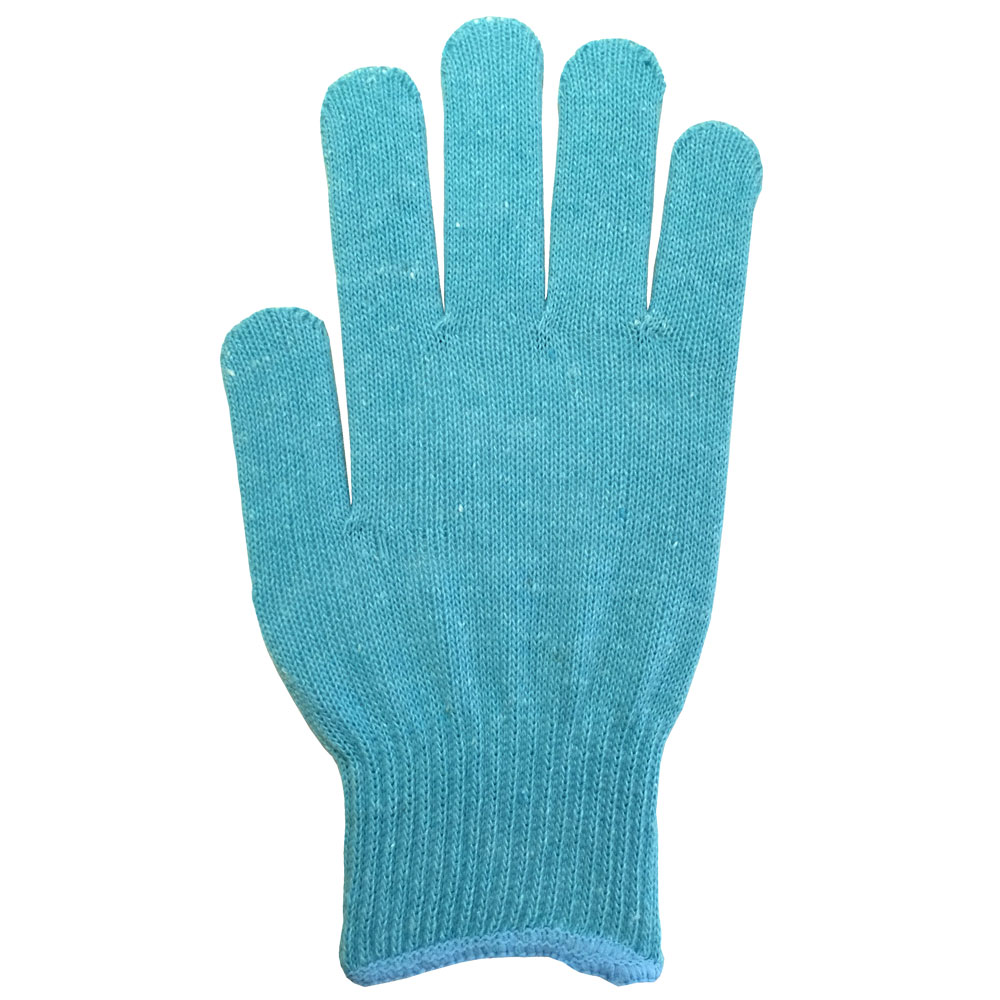 パステルカラー手袋・軍手 スカイブルー