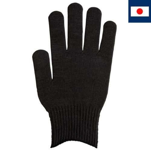 T/Cカラー手袋 黒