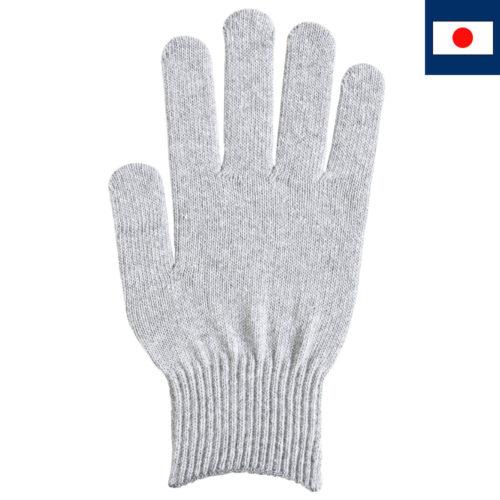 T/Cカラー手袋 グレー