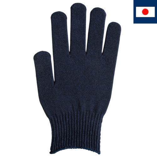 T/Cカラー手袋 紺
