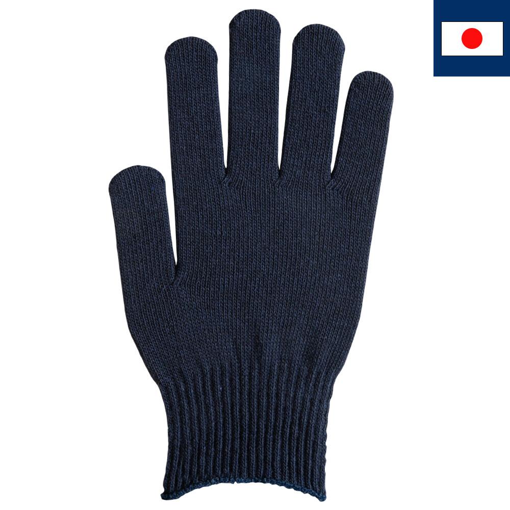 T/Cカラー手袋・軍手 紺