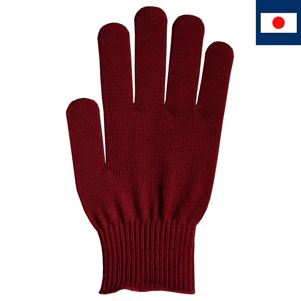 ビビッドカラー手袋・軍手 クリムゾンレッド