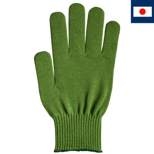 ビビッドカラー手袋 深緑