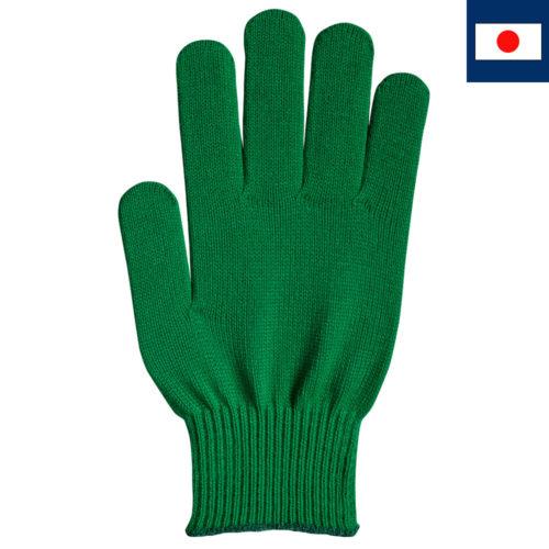 ビビッドカラー手袋 緑