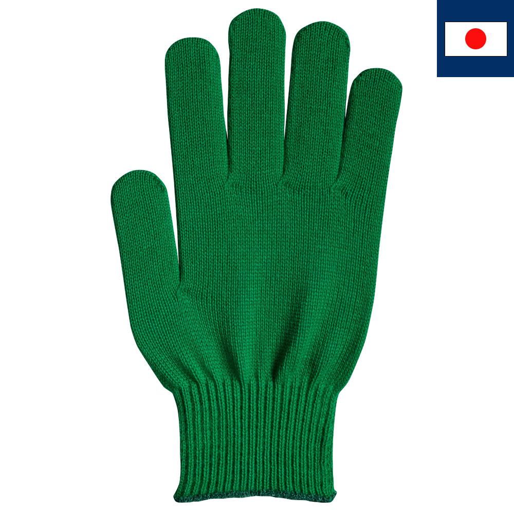 ビビッドカラー手袋・軍手 緑