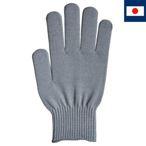 ビビッドカラー手袋 グレー