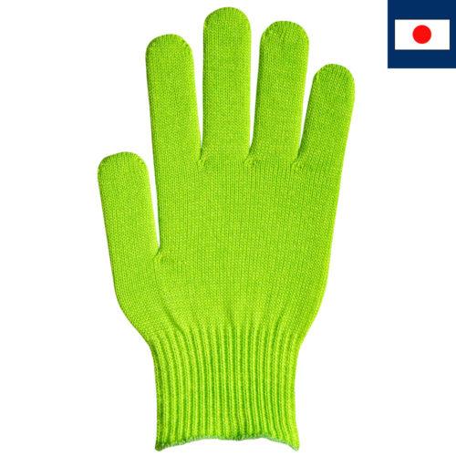 ビビッドカラー手袋 ライムグリーン