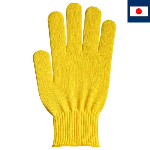 ビビッドカラー手袋 レモンイエロー
