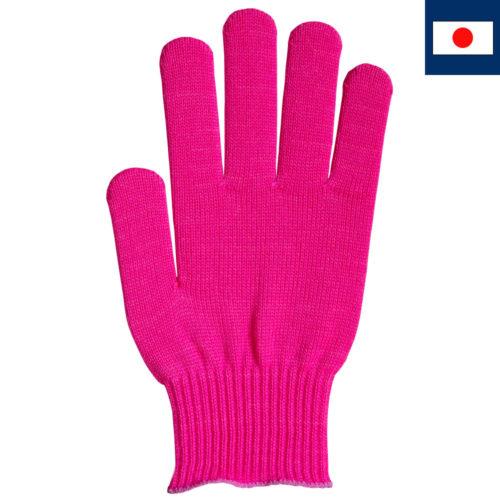 ビビッドカラー手袋 マゼンタ