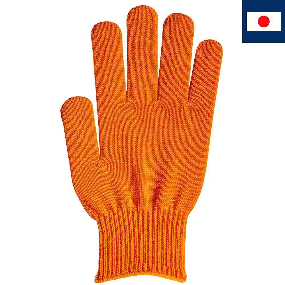 ビビッドカラー手袋・軍手 オレンジ