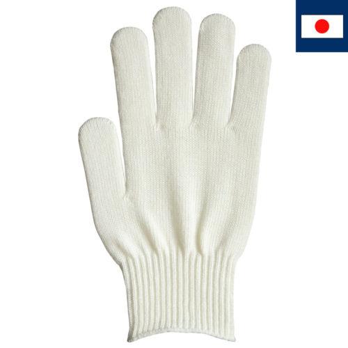 ビビッドカラー手袋 オフホワイト