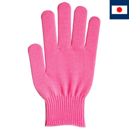 ビビッドカラー手袋 ピンク