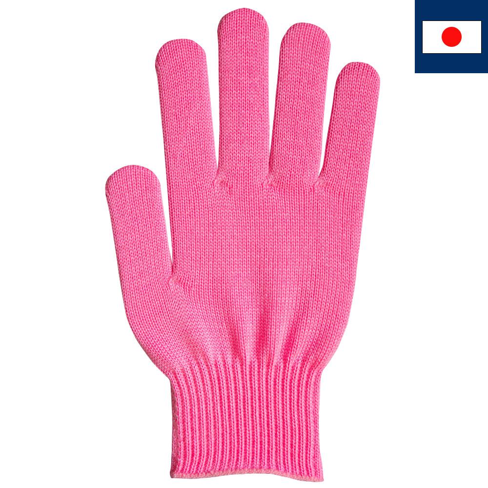 ビビッドカラー手袋・軍手 ピンク