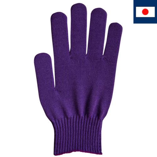 ビビッドカラー手袋 紫