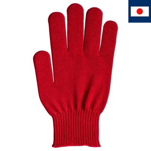 ビビッドカラー手袋 赤
