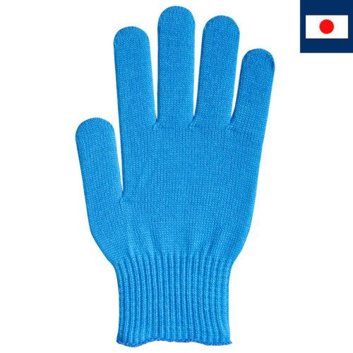 ビビッドカラー手袋 シアン