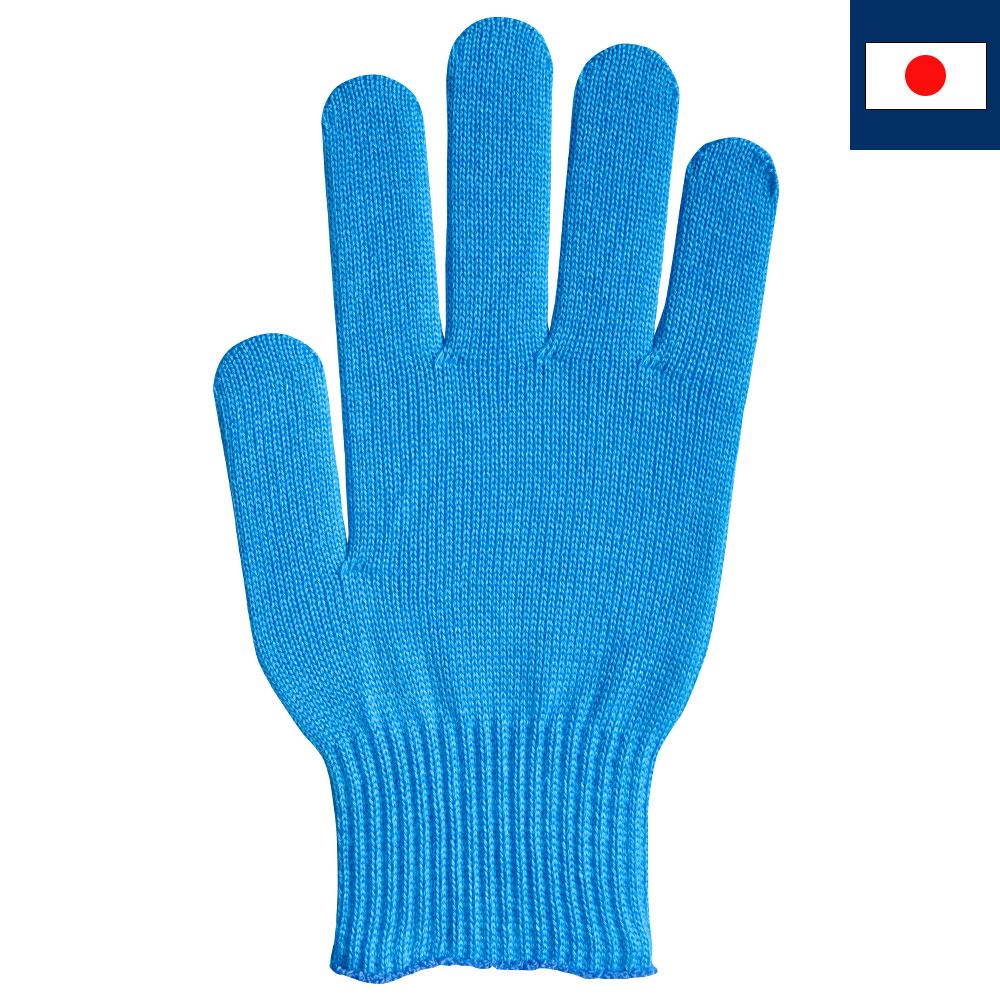 ビビッドカラー手袋・軍手 シアン