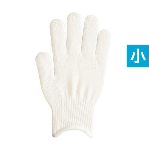 のびのび手袋 白